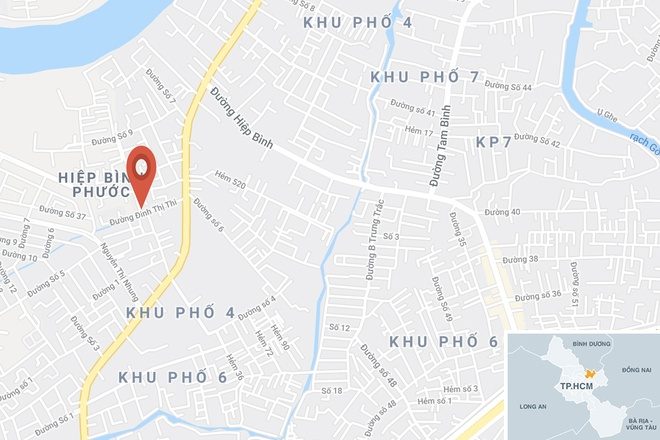 Phat hien thi the be trai tren cong trinh hinh anh 2