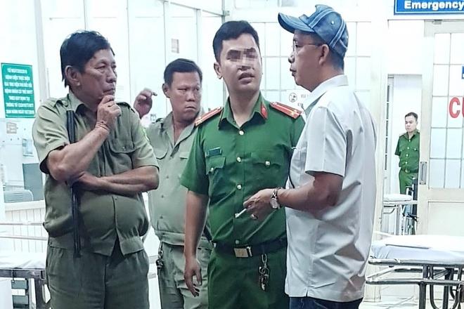 Người đàn ông nghi tự sát bằng súng tại Bệnh viện Trưng Vương