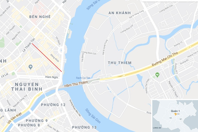 cam xe trung tam TP.HCM anh 2