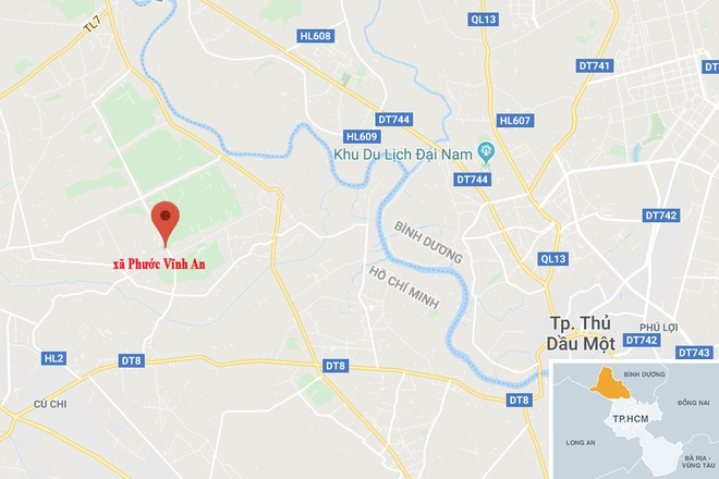 Cong nhan vut tan thuoc khien cong ty rong 1.000 m2 bi thieu rui hinh anh 2 map_cuchi_chay.jpg