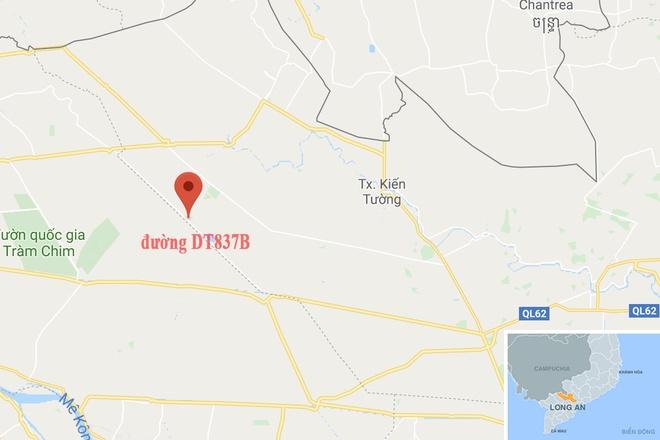 Cam xe chay tren duong nut toac o Long An hinh anh 2 map_longan_lun.jpg