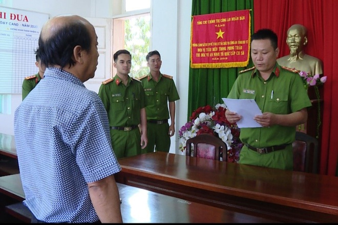 Bat nguyen Tong giam doc Cong ty CP du lich tinh Ba Ria - Vung Tau hinh anh 1 images1596465_Viet_1.jpg