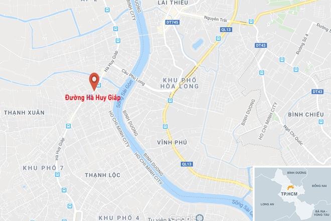 Chong om thi the vo sau tai nan o TP.HCM hinh anh 2 map_quan12_tainan.jpg