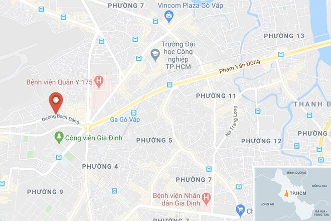 Chay kho hang 5.000 m2 gan san bay Tan Son Nhat