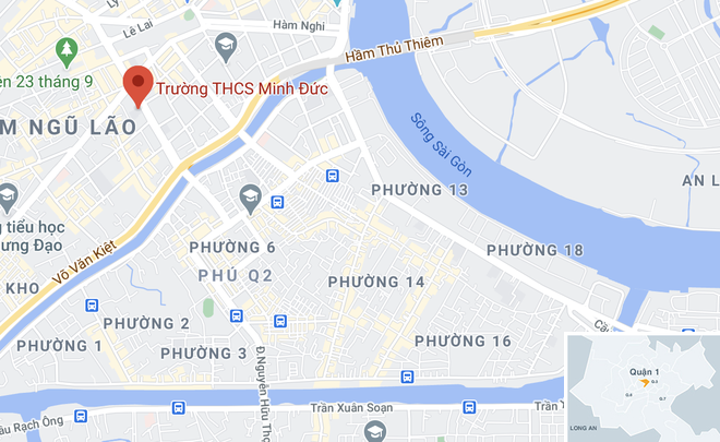 hoc sinh du lan can truong anh 2
