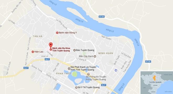 Chay benh vien da khoa Tuyen Quang, hon 500 benh nhan phai so tan hinh anh 1