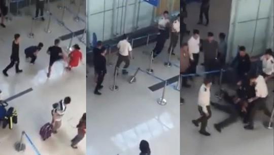 Cấm bay 1 năm người đánh chảy máu đầu nhân viên an ninh ở Thanh Hóa