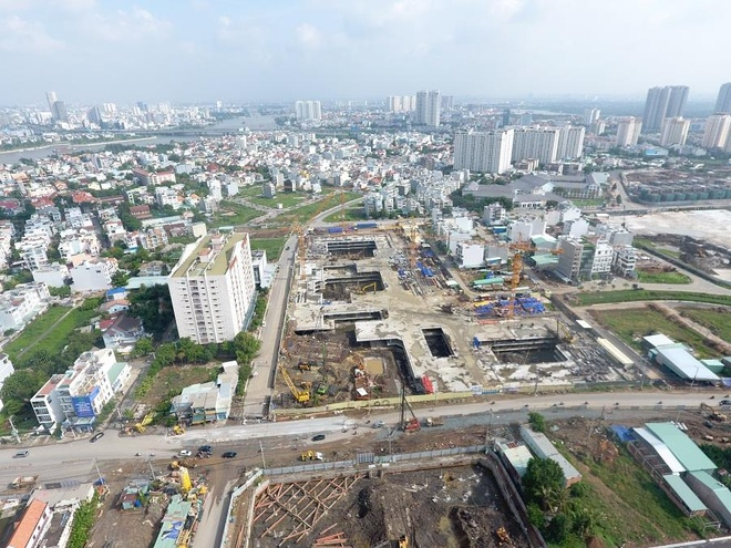 Dự án Laimian City ở Sài Gòn bị phạt vì xây không phép