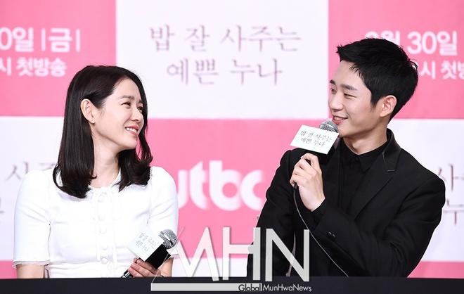 Jung Hae In thua nhan rung dong tu lan dau gap 'chi dep' Son Ye Jin hinh anh