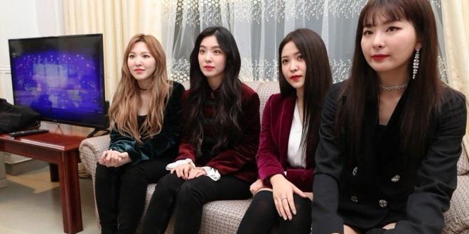 Red Velvet bieu dien tai Trieu Tien anh 1