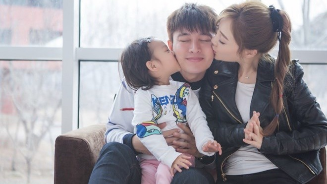 Ly Tieu Lo chuc sinh nhat Gia Nai Luong sau scandal ngoai tinh hinh anh