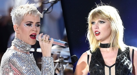 Katy Perry xin loi Taylor Swift, hoa giai an oan sau 4 nam hinh anh