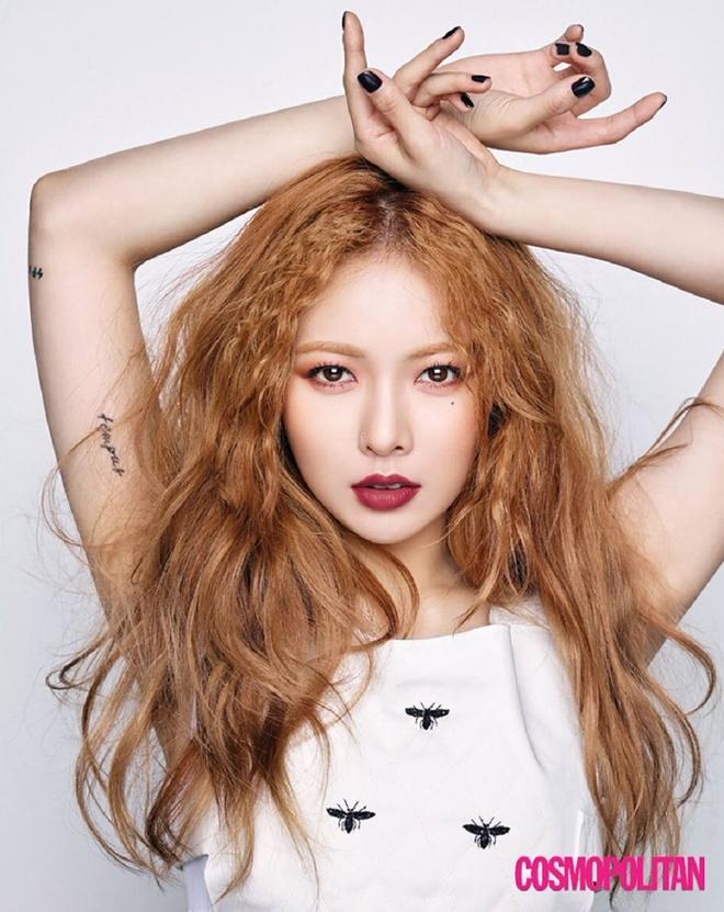 Roi cong ty, HyunA va ban trai bi antifan gui vong hoa che gieu hinh anh 3