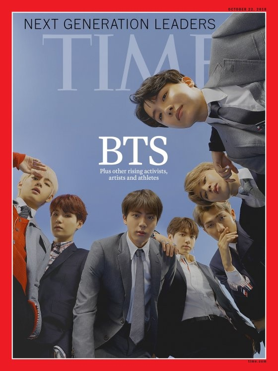 Tap chi Time vi BTS giong huyen thoai The Beatles hinh anh 1