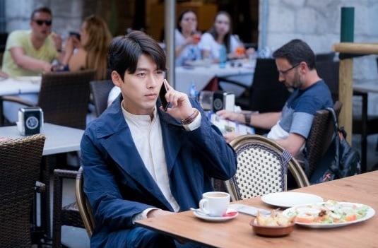 Hyun Bin dong cap voi Park Shin Hye anh 1