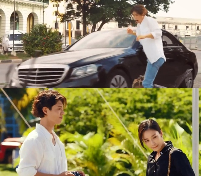 Song Hye Kyo dong cung Park Bo Gum anh 1