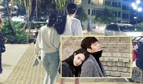 Kim Woo Bin va Shin Min Ah ben nhau tai Australia sau bien co ung thu hinh anh