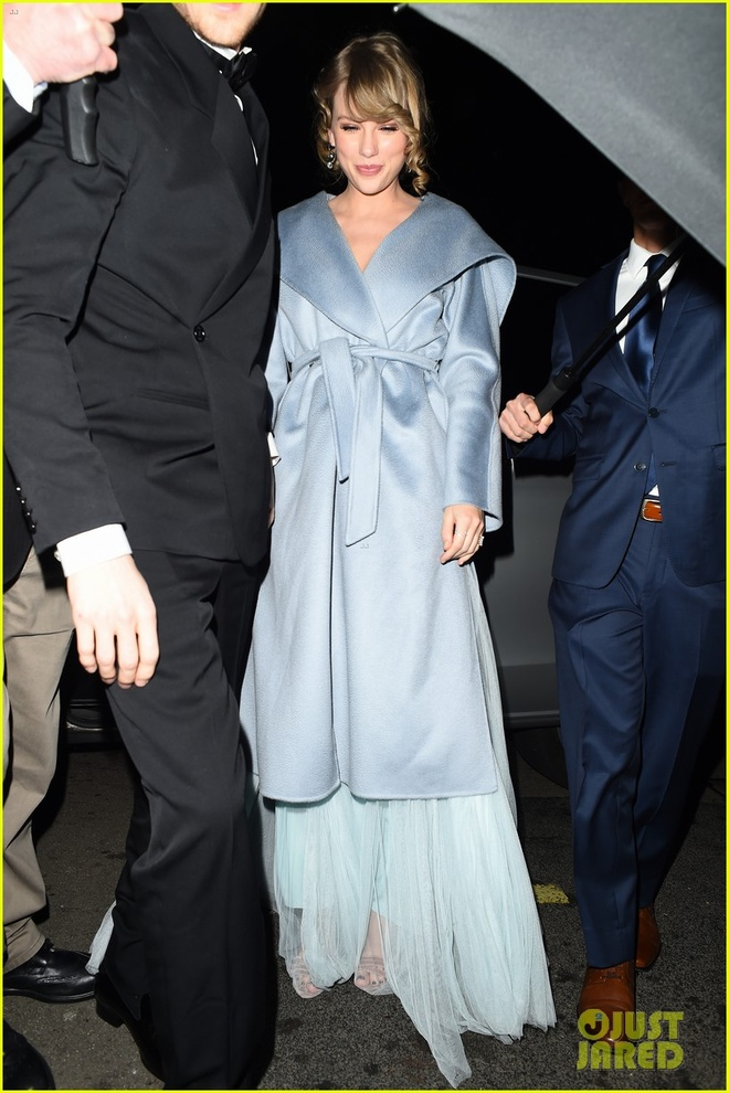 Bo Grammy, Taylor Swift tinh tu ben ban trai tai giai Oscar Anh hinh anh 5