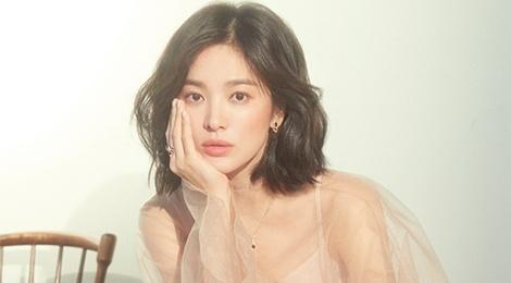 Song Hye Kyo long lay nhu 'nu than mua xuan' tren tap chi Elle hinh anh
