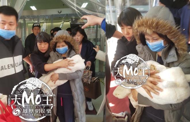 Trieu Le Dinh xuat vien sau khi sinh con trai cho Phung Thieu Phong hinh anh 1
