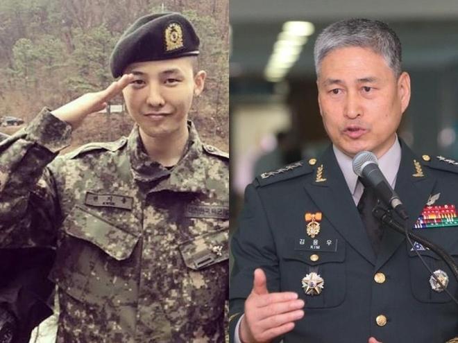 Quan doi Han khang dinh G-Dragon khong nhan biet dai khi nhap ngu hinh anh 1