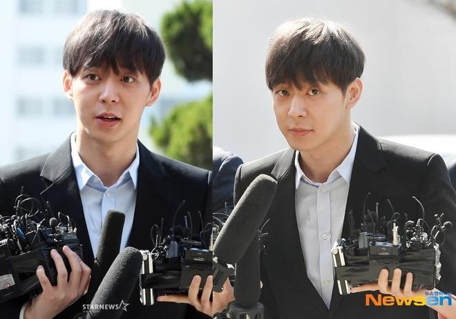 Park Yoochun thoai mai den so canh sat vi cao buoc dung ma tuy hinh anh 2