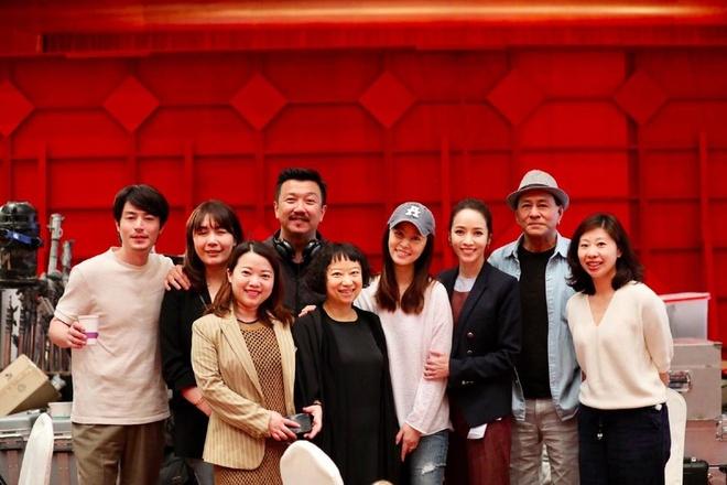 Hoac Kien Hoa vui ve khi ba xa Lam Tam Nhu den phim truong tham hinh anh 1