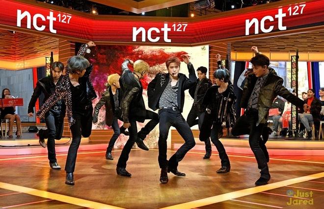 NCT 127 bi nham la BTS va vi the thuc su cua BTS tai My hinh anh 1