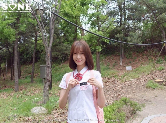 YoonA is still young when wearing uniform