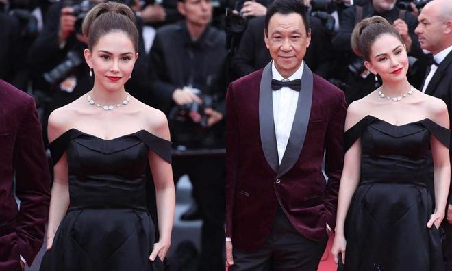 Chau Kiet Luan lan trong dam dong, ngam vo tren tham do Cannes hinh anh 1