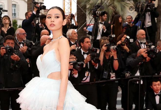 He Mong Dao goi cam, Ha Tue mac lo tren tham do Cannes 2019 hinh anh 4