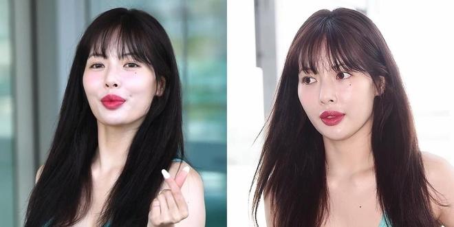 'Nu hoang sexy' HyunA dinh nghi van bom moi hinh anh 1
