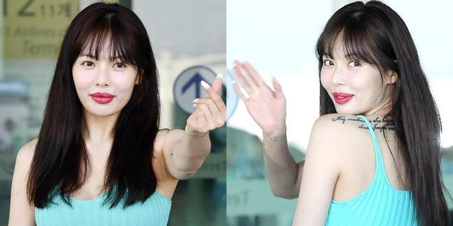 'Nu hoang sexy' HyunA dinh nghi van bom moi hinh anh 2