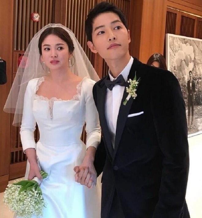 Song Joong Ki Song Hye Kyo ly hon anh 1