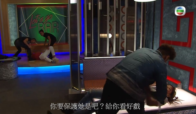 canh nong phim tvb anh 9
