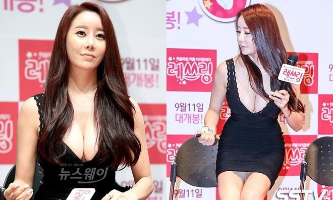 Ha Na Kyung - sao nu trang tay sau su co lo hang, hanh hung ban trai hinh anh 6