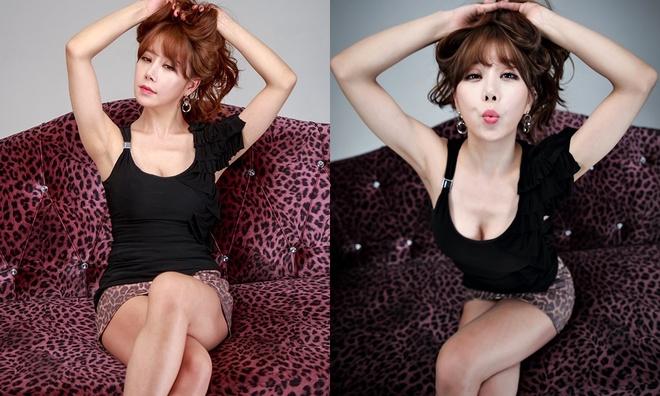 Ha Na Kyung - sao nu trang tay sau su co lo hang, hanh hung ban trai hinh anh 9