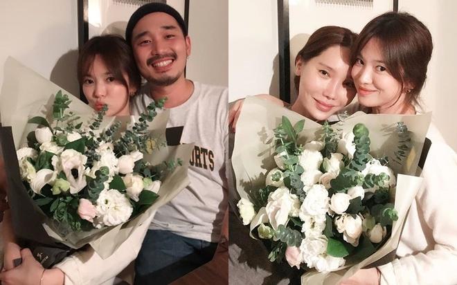 Song Hye Kyo don tuoi 38 ben ban be hinh anh 1
