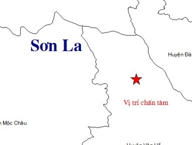 Dong dat 3,4 do richter o Son La hinh anh