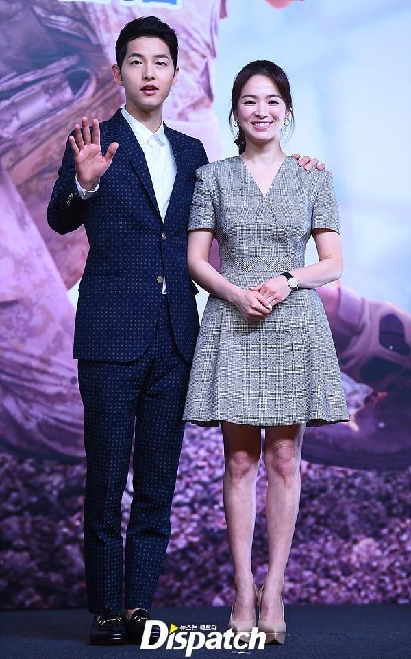 Thời trang ăn ý của Song Hye Kyo và Song Joong Ki ngày còn yêu - Ảnh 1