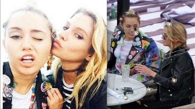 Ve nong bong cua thien than noi y hen ho Miley Cyrus, Kristen Stewart hinh anh 4