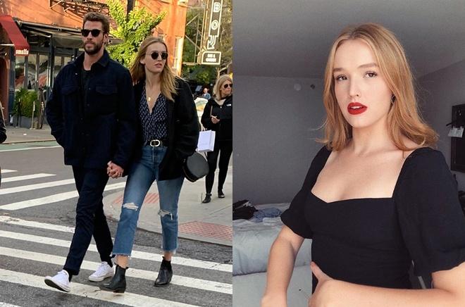 Ban gai 22 tuoi cua Liam Hemsworth sexy khong kem Miley Cyrus hinh anh 1