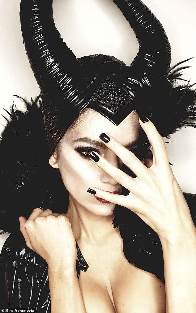 Sao nu bo quen noi y khi hoa trang thanh nhan vat cua Angelina Jolie hinh anh 2