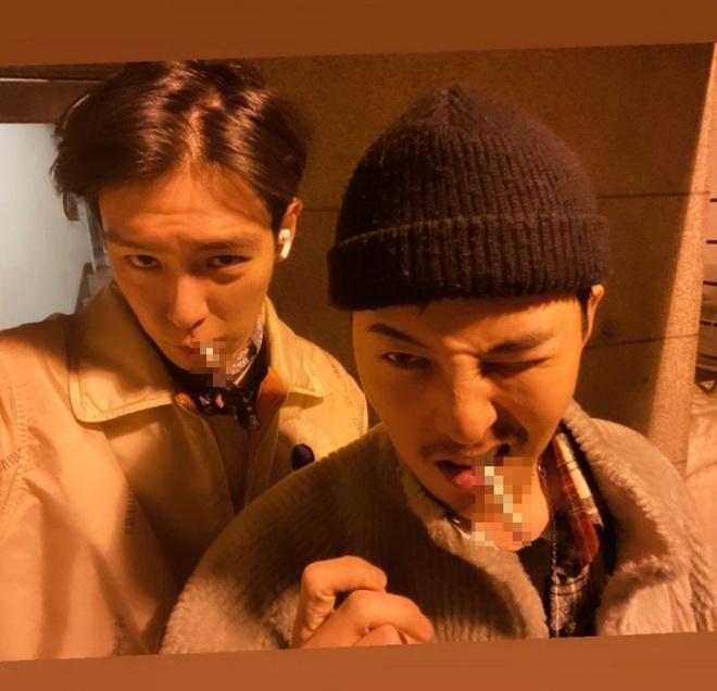 Anh chung cua G-Dragon va T.O.P gay tranh cai hinh anh 1 Untitled-1.jpg