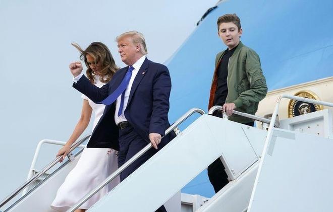 Barron Trump cao lon anh 1
