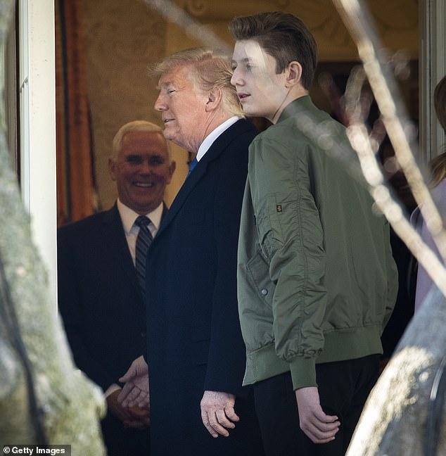 Barron Trump cao lon anh 8
