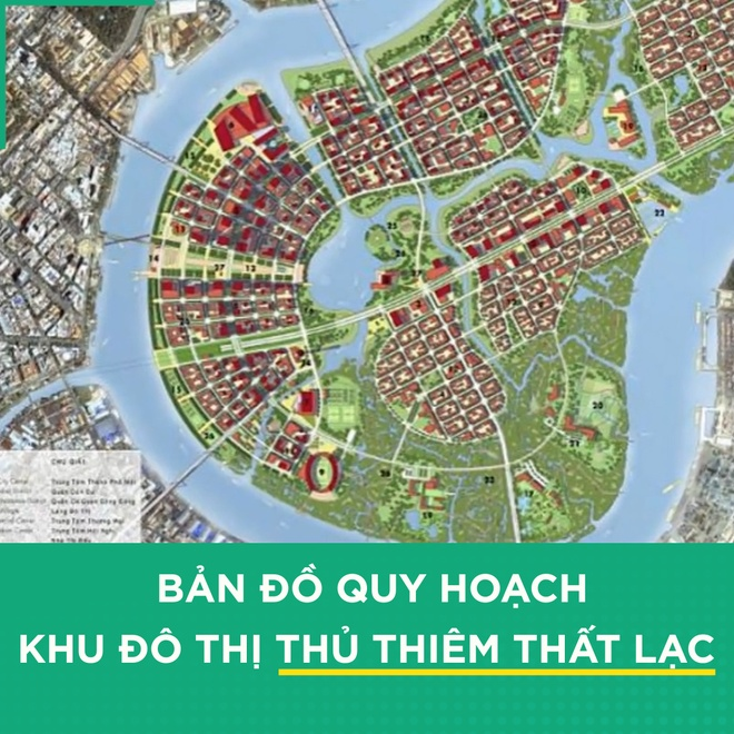 5 dieu can biet viec ban do quy hoach Khu do thi Thu Thiem that lac hinh anh