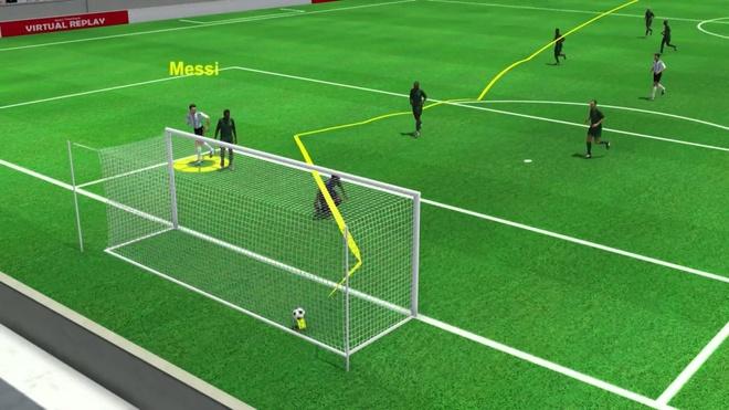 Highlight 3D: Argentina 2-1 Nigeria hinh anh