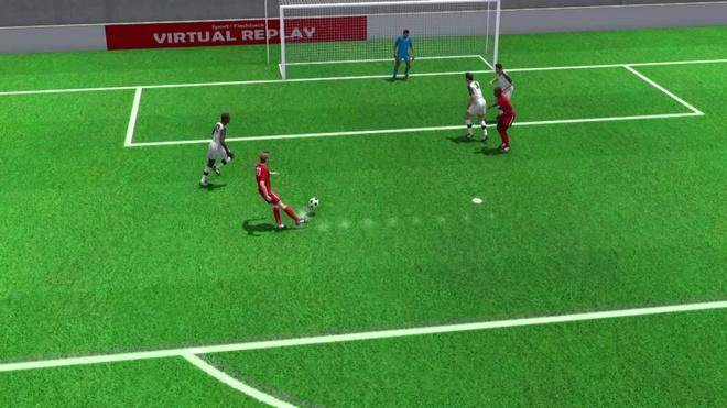 Highlight 3D: Thuy Si va Costa Rica hoa nhau 2-2 hinh anh