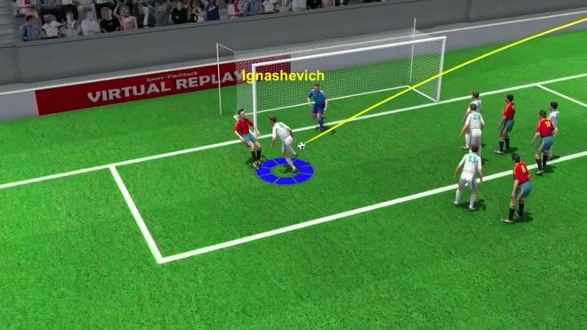 Highlight 3D: Tay Ban Nha 1-1 Nga hinh anh